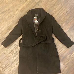 Scotch and Soda Wool Wrapover Coat